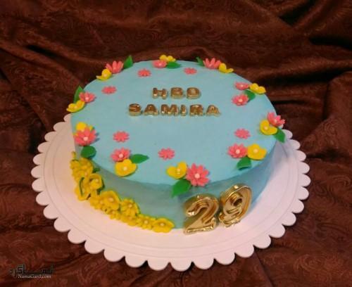 عکس های کیک تولد یک طبقه جدید