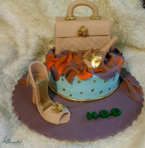 عکس های کیک تولد دخترونه قشنگ