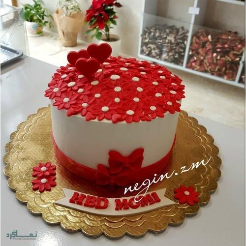 عکس های کیک تولد یک طبقه زیبا