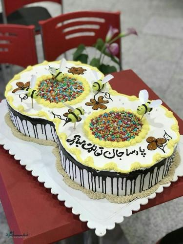 عکس های کیک تولد شیک زیبا