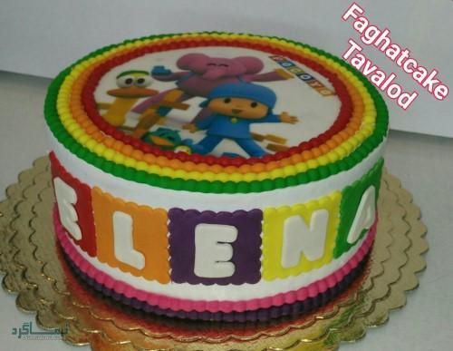 عکس های کیک تولد شیک باکلاس