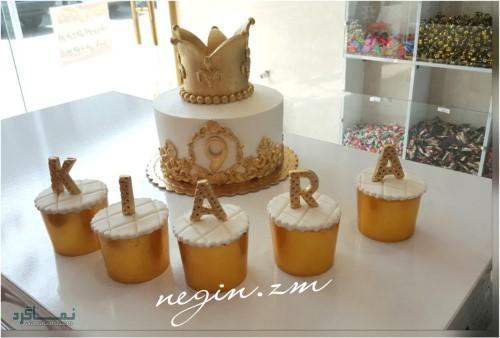 عکس های کیک تولد یک طبقه باکلاس