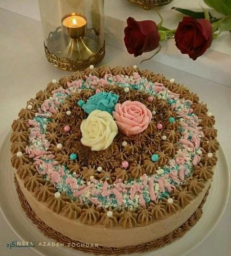 عکس های کیک تولد زنانه زیبا