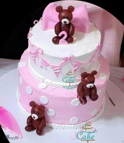 عکس های کیک تولد زنانه متفاوت