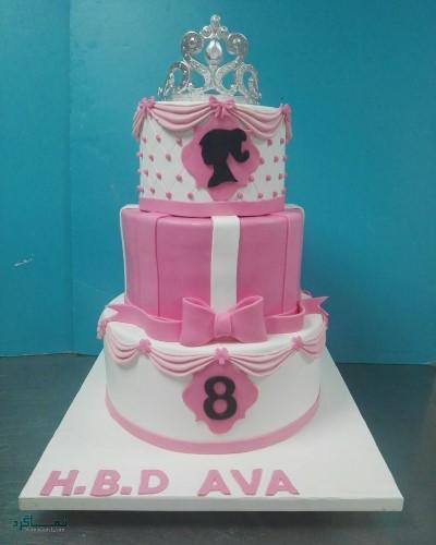 عکس های کیک تولد دخترانه خاص