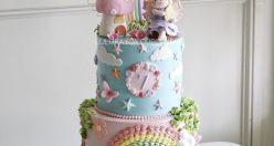 عکس کیک تولد شیک و خاص + مدل های جذاب خفن کیک تولد (۵)