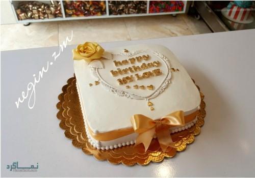 عکس کیک تولد شیک در اینستاگرام