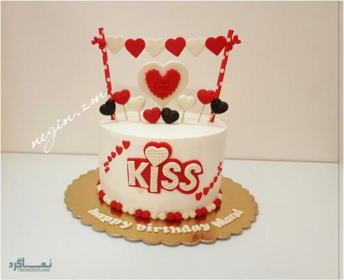 عکس کیک تولد شیک دخترانه