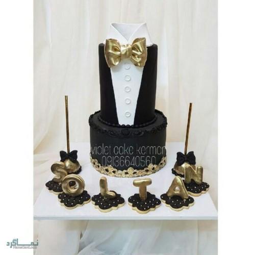 عکس های کیک تولد شاخجذاب
