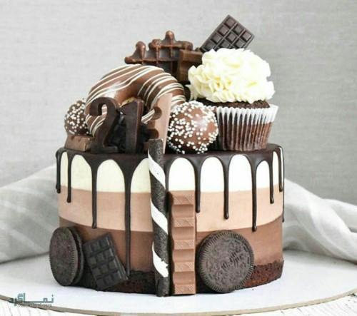 عکس های کیک تولد دخترانه قشنگ