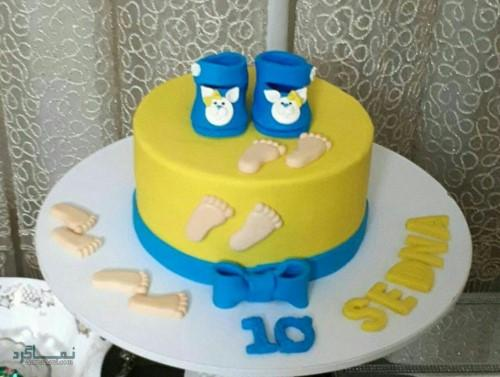 عکس های کیک تولد دخترانه جدید