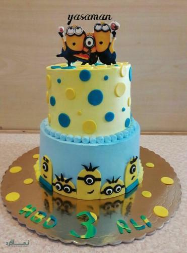 عکس هایی از کیک تولد متفاوت