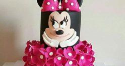 عکس کیک تولد دخترانه تک شاخ + مدل کیک تولد زیبا دخترانه (۶)