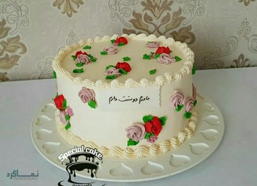 عکس از کیک تولد تک شاخ