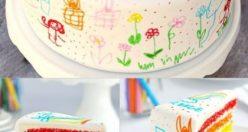 عکس کیک تولد مدل اسب تک شاخ + مدل کیک تولد زیبا دخترانه (۷)