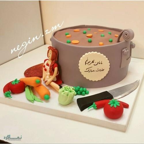 عکس کیک تولد با تم اسب تک شاخ