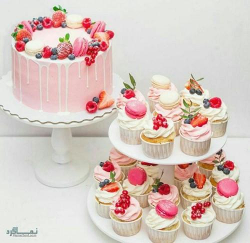 عکس کیک تولد دخترانه تک شاخ