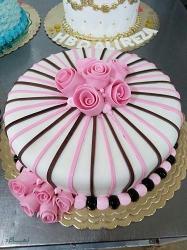 عکس کیک تولد مدل اسب تک شاخ