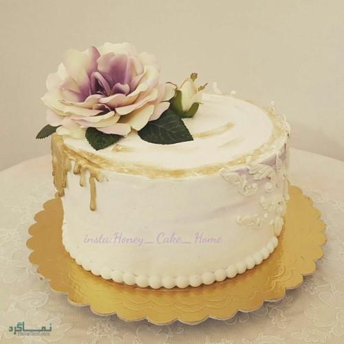عکس کیک تولد تک شاخ