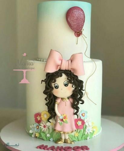 عکس کیک تولد زیبای جذاب