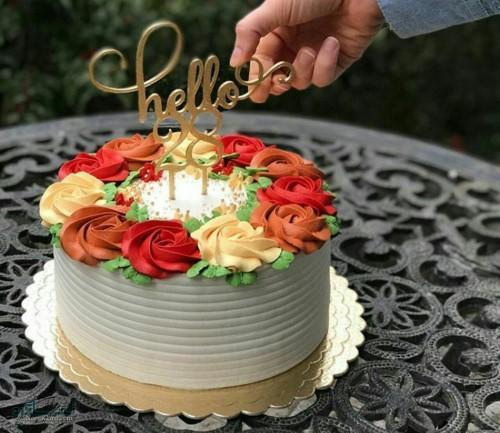 عکس های کیک تولد زیبای باکلاس