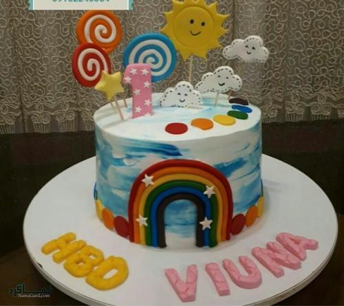 عکس کیک تولد زیبای شیک