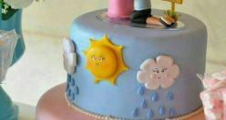 عکس کیک تولد زیبا دخترونه + مدل های ناب خاص کیک تولد ۱۳۹۹