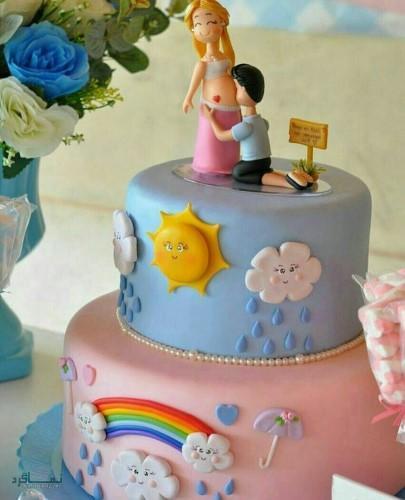 عکس های کیک تولد دخترونه متفاوت