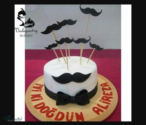عکس کیک تولد زیبا و رمانتیک