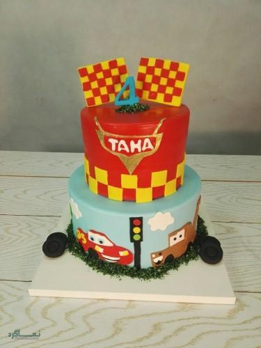 انواع عکس کیک تولد زیبا