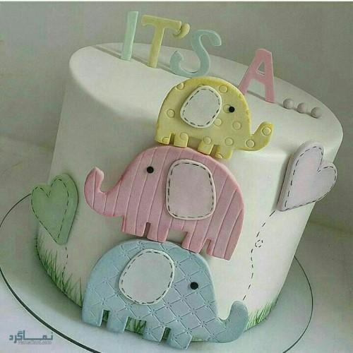 عکس کیک تولد زیبا و جدید