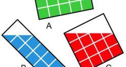 تست هوش ریاضی پیدا کردن مساحت قسمت رنگی (۰۲)