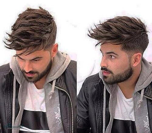 مدل های مو مردانه سنگین