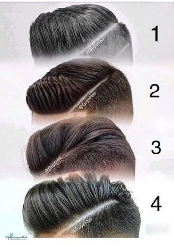 مدل های مو کوتاه مردانه متفاوت