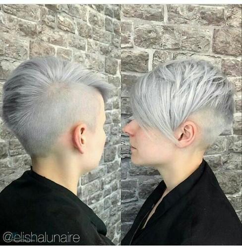 مدل موی مردانه خفن شاخ