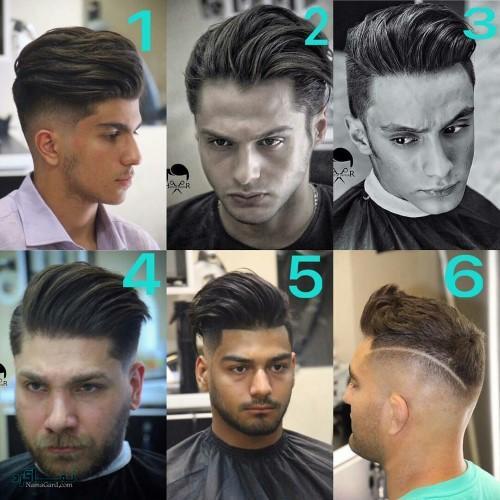 مدل مو های پسرانه خفن متفاوت