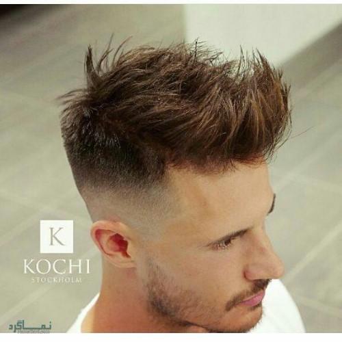 مدل مو های مردانه متفاوت