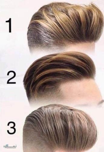 مدل های مو مردانه سایه روشن شاخ