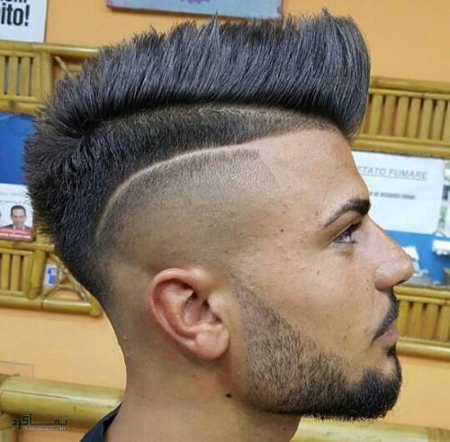 مدل های مو مردانه سایه روشن شیک