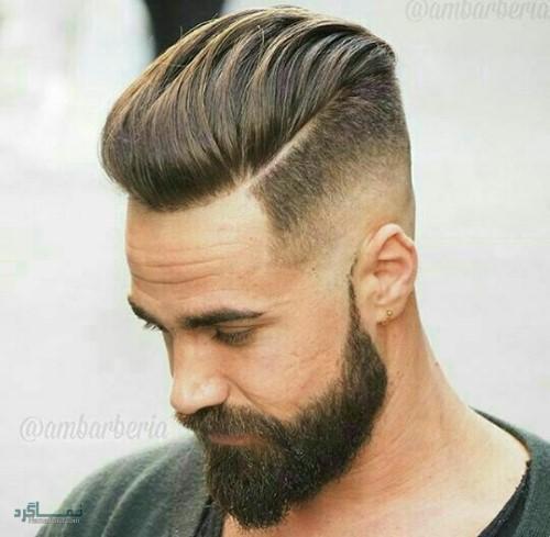 مدل های موی پسرانه سایه روشن خاص
