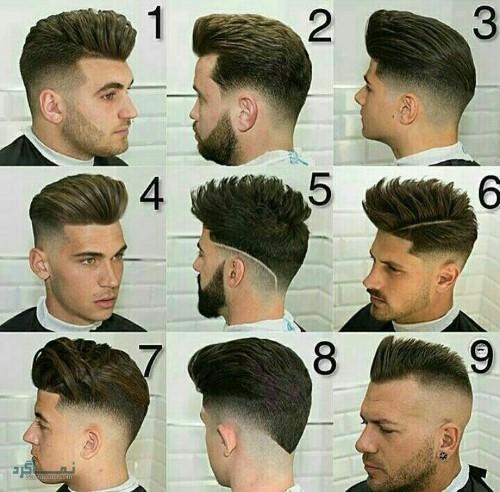 مدل های مو مردانه سایه روشن خفن