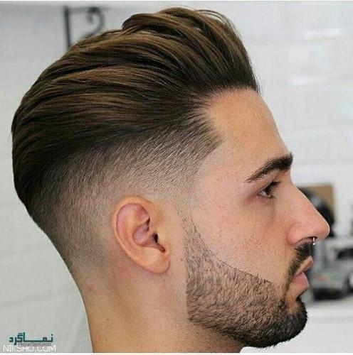 مدل های مو مردانه سایه روشن سنگین