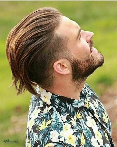 مدل مو مردانه سایه روشن 2018