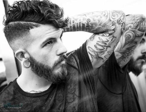 مدل موی پسرانه سایه روشن کوتاه