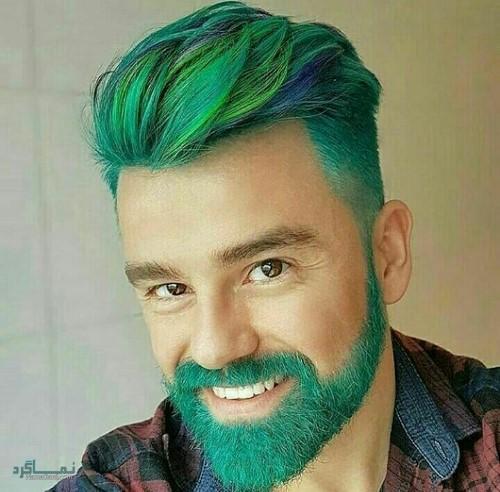 مدل موی پسرانه سایه روشن