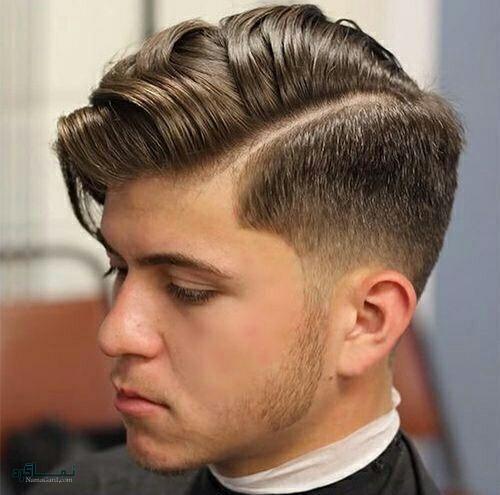 عکس مدل مو مردانه سایه روشن