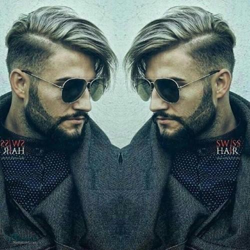 جدیدترین مدل مو مردانه سایه روشن
