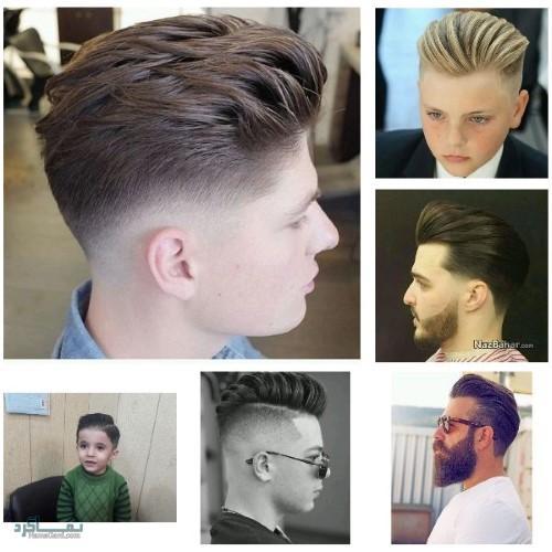 مدل های مو مردانه شیک و قشنگ