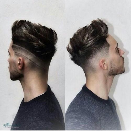 مدل های موی مردانه شیک و سنگین