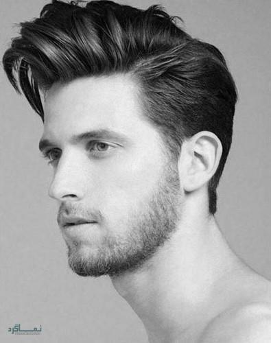 مدل مو مردانه شیک و سنگین